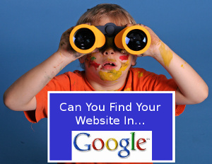 Is your small business website in google search?