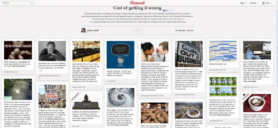 b2b social media storytelling through Pinterest