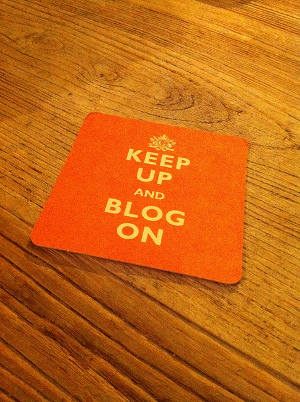 blog ideas - keep up and blog on