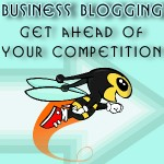 business blogging - get ahead of the competition