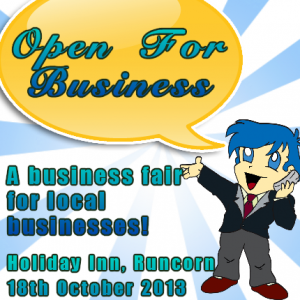 #OpenForBusiness – A Business Fair for Widnes, Runcorn and Frodsham