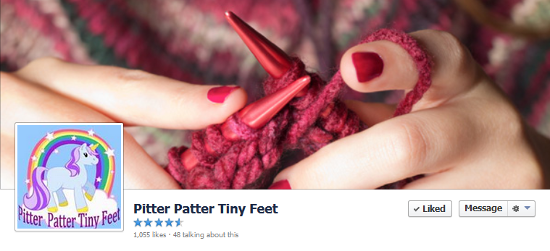 Facebook local business page - Pitter patter tiny feet