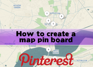How to Create and Use a Pinterest Map Board
