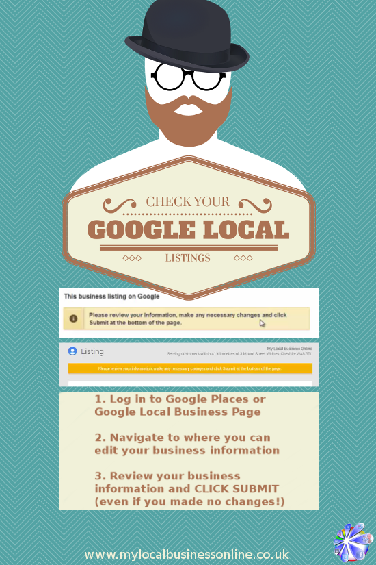 Check your Google Places/Google Plus Local Business Page for edit warnings.  Got a warning?  ACT NOW - check your info then click submit