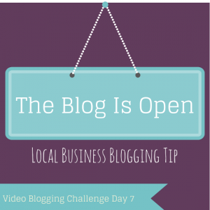 Video Blogging Challenge Day 7