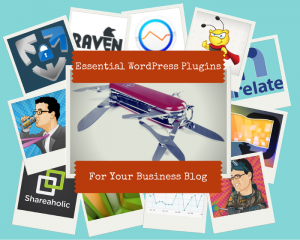 12.5 Essential WordPress Plugins For Your Business Blog