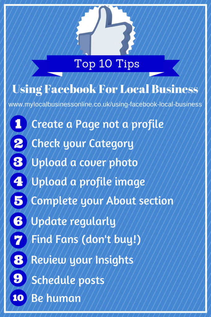 10 Top Tips Using Facebook For Local Business