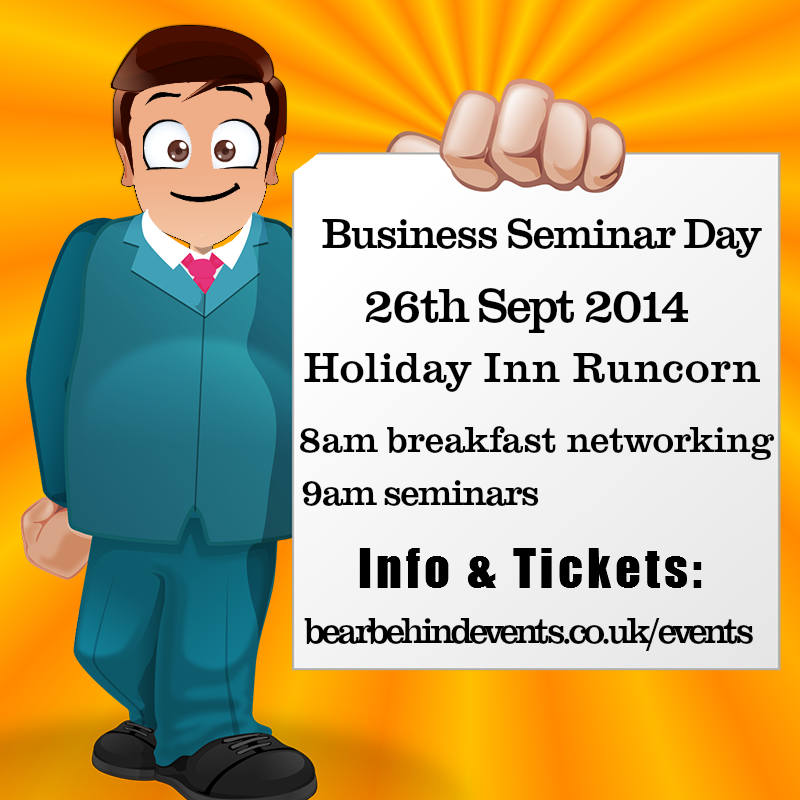 Business Seminar Day  Holiday Inn Runcorn 26th September