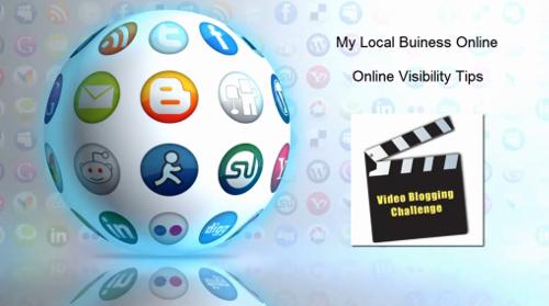 video blogging challenge - online visibility