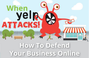 Dealing With Yelp Business Reviews [Infographic]