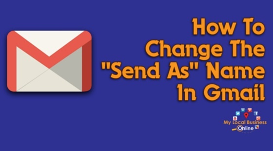 GMail tip - how to change the email display name