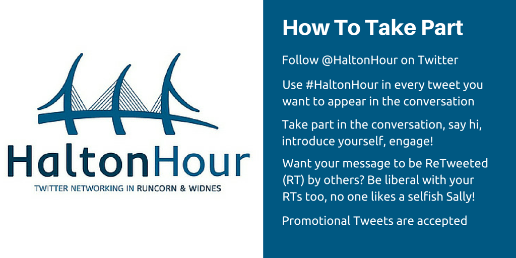 #HaltonHour Local Twitter Hour for Widnes and Runcorn, Cheshire