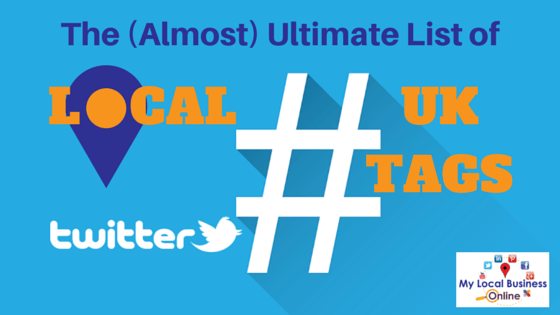 local UK local Twitter hours hashtags