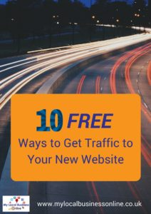Free Ways to Get Traffic to Your New Website1
