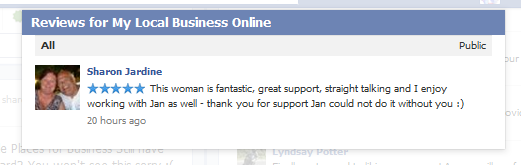 online visibility testimonial from slj coaching
