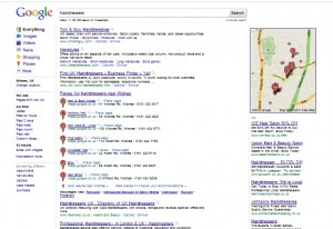 keyword local search