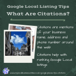Google Local Listings Tips - What are citations?