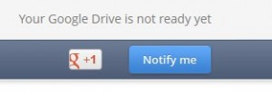 google drive not ready