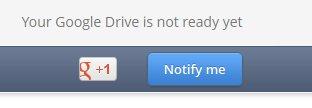google drive not ready