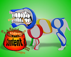 content curation - feed the google beast