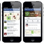 facebook local business pages - nearby tab