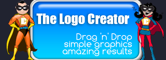 The Logo Creator simple graphic desig