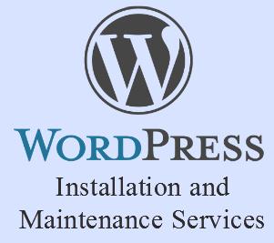 wordpress installation and maintenance