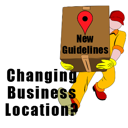 Moving Business Address?  Google Local Update Guidelines