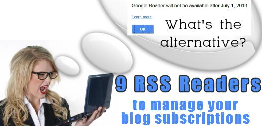 9 rss readers alternatives to google reader