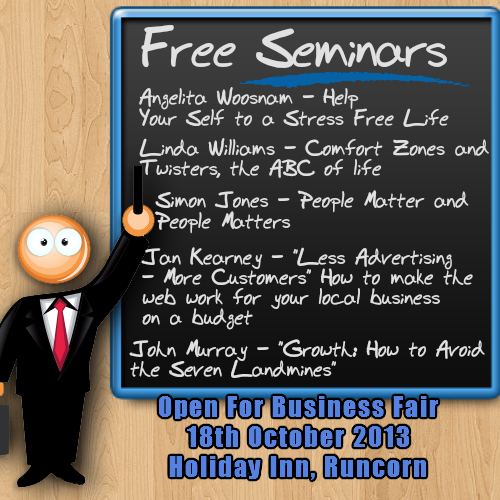 Open for business fair free seminars