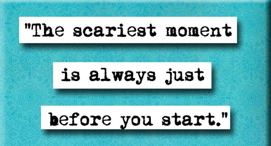 Video Blogging Challenge - feeling the fear!