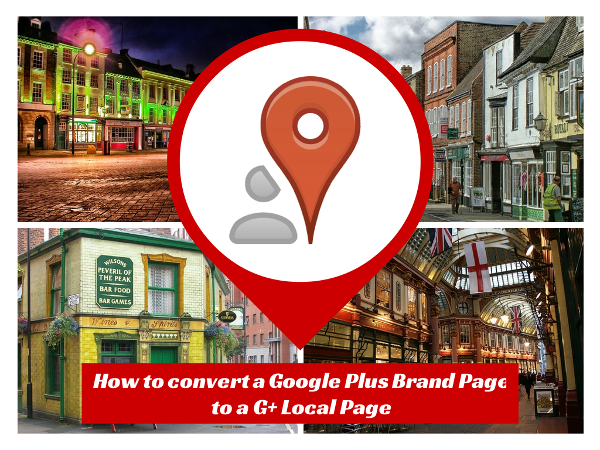 local businesses -  connect Goole Plus business page to a Google Local Page