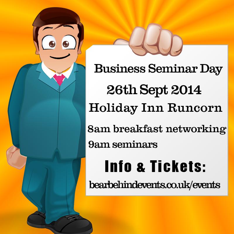 Business Seminar Day  Holiday Inn Runcorn 26th September