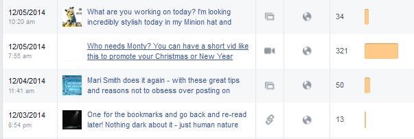 increase in Facebook reach monty video