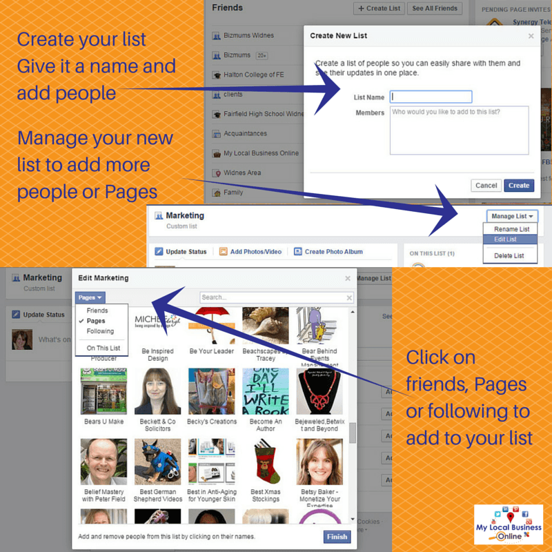 Control what you see in your Facebook News Feed with lists