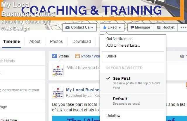 Add Facebook Pages you really Like to Interest Lists