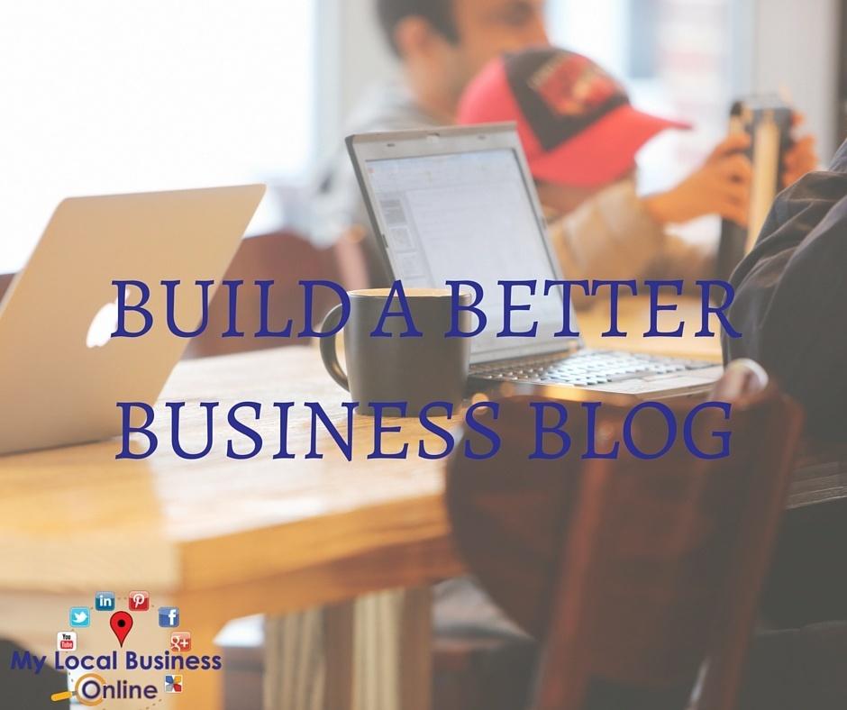 Build a better business blog challenge